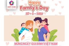 HAPPY FAMILY'S DAY 28/6/2020